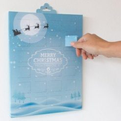 2020 Advent Personalised Calendar Printed