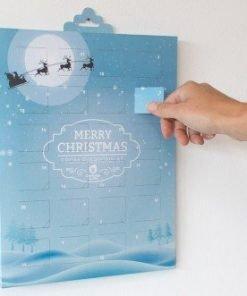 2020 Advent Personalised Calendar Printed