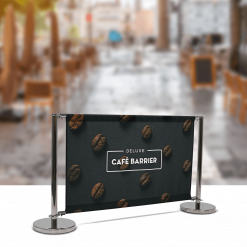Deluxe Café Barrier Divider Kit