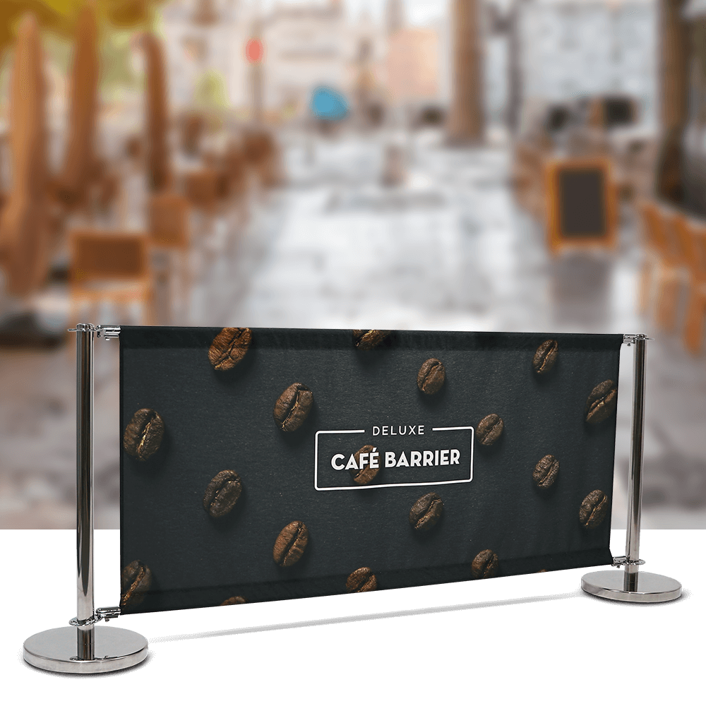 Deluxe Cafe Barrier System 2000mm