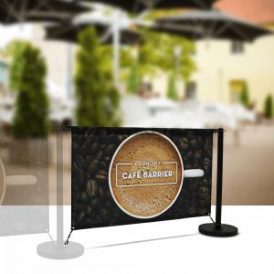 Economy Cafe Divider Extension Kit