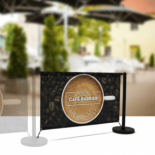 Economy Cafe Divider Extension Kit