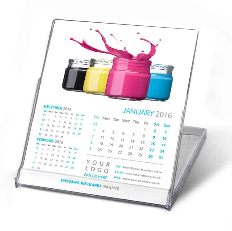 CD Personalised Calendar Printed