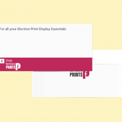 Election Custom Printed Envelopes