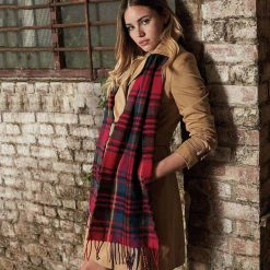 Personalised Classic Check Scarf