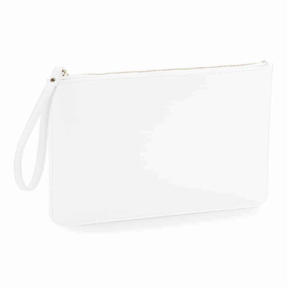Personalised Accessory Pouch Soft White