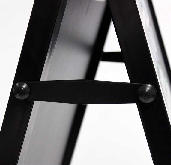 Premium Chalk A Board Steel Frame Locking Arm