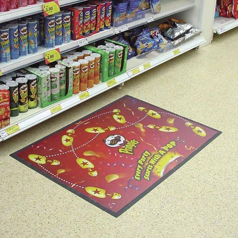 Floor mat insitu | Fantasy Prints