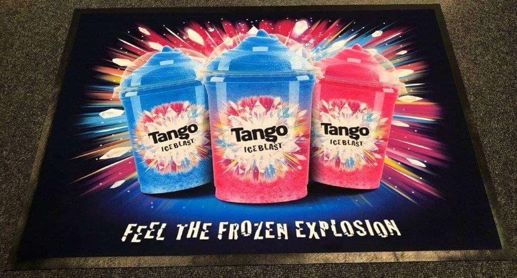 Tango mat on Floor | Fantasy Prints