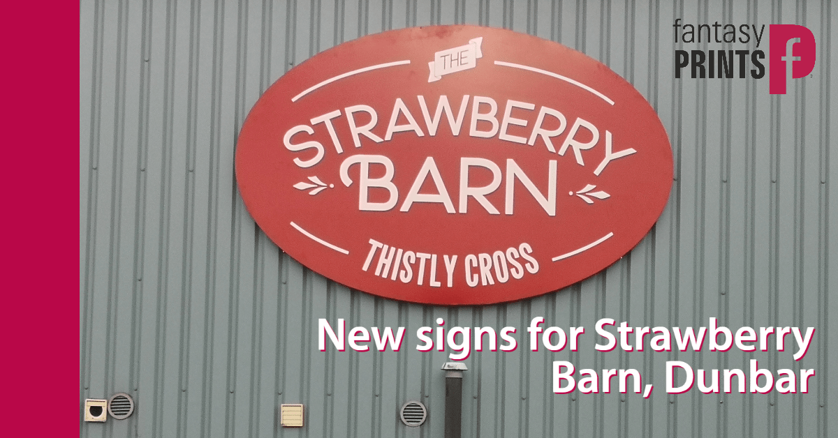 Strawberry Barn Signs