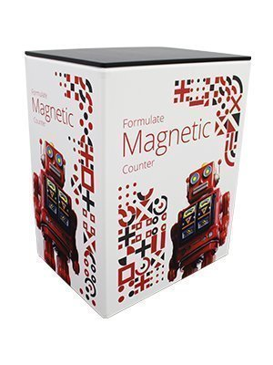 Formulate Magnetic Counter with graphic