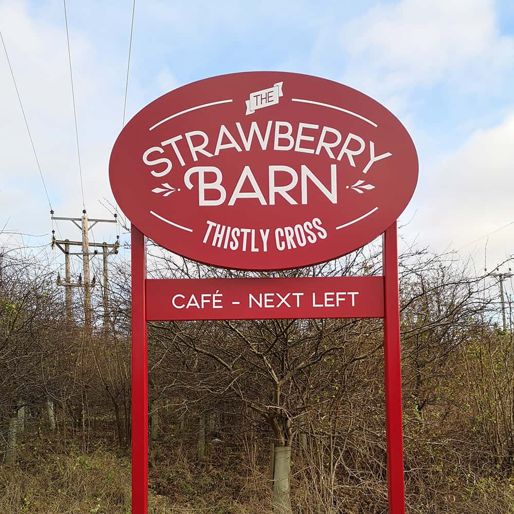 Strawberry Barn Sign6