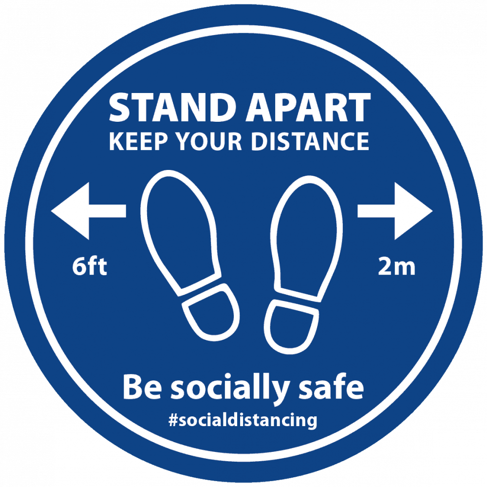 Blue - Stand Apart Feet Image