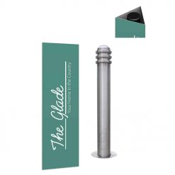 Bollard Wraps – promote to your passing trade