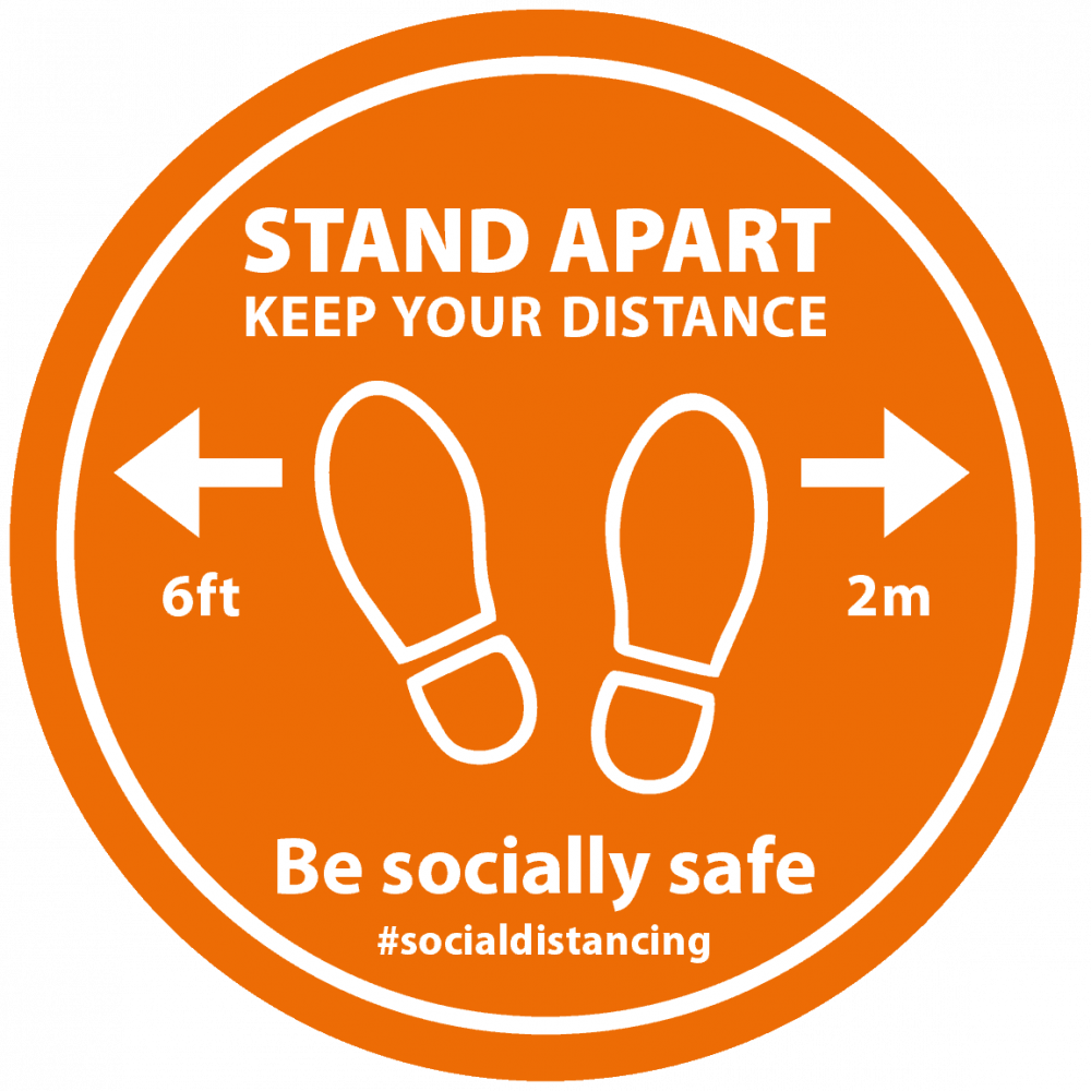Orange - Stand Apart Feet Image