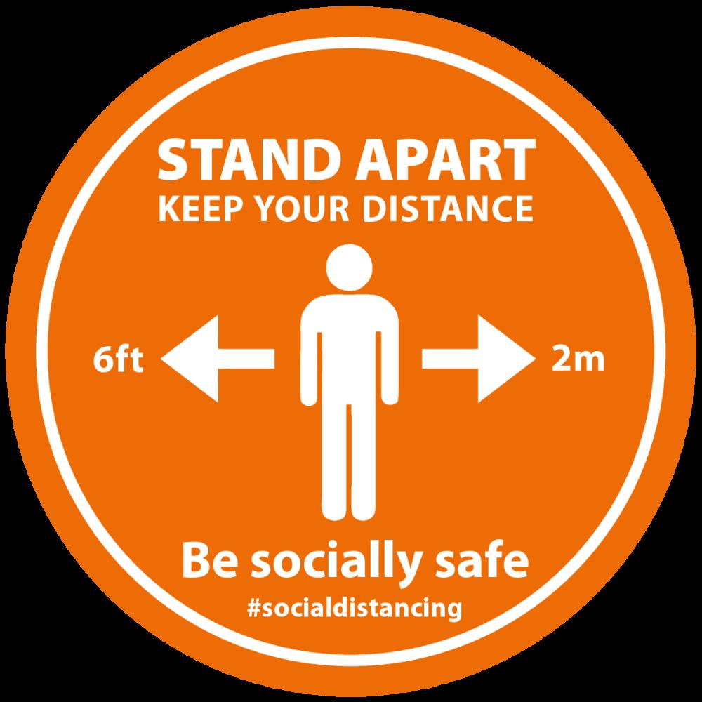 Orange - Stand Apart Man Image