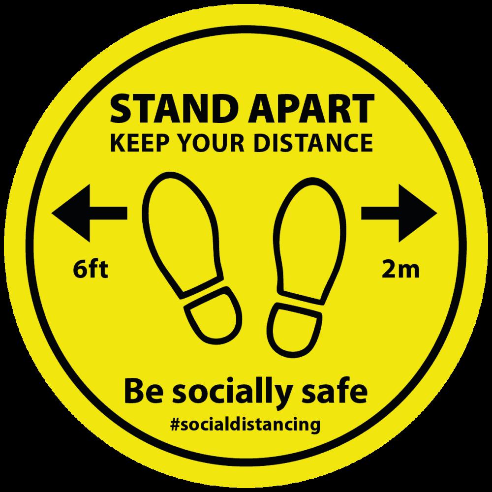 Yellow - Stand Apart Feet Image