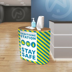 Basic Sanitising Station