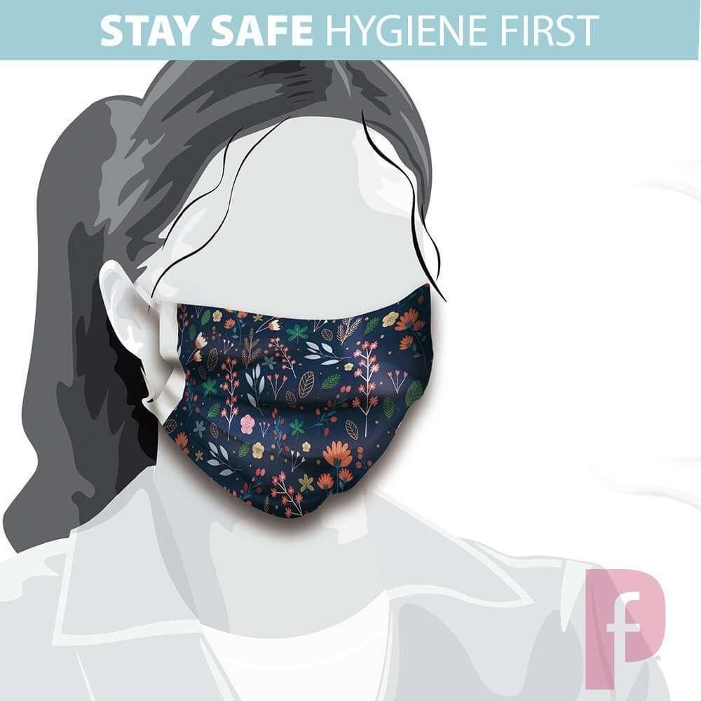 Reusable Face Masks Custom printed