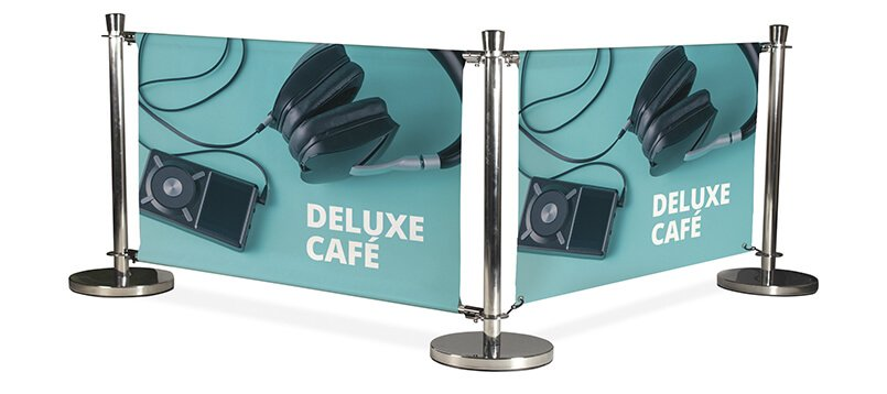 Cafe and restaurant barriers