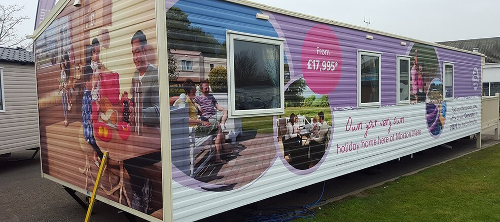 Caravan Vinyl and Promotional Graphics