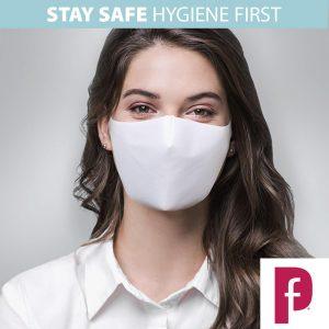 Protective Fabric Face Mask plain