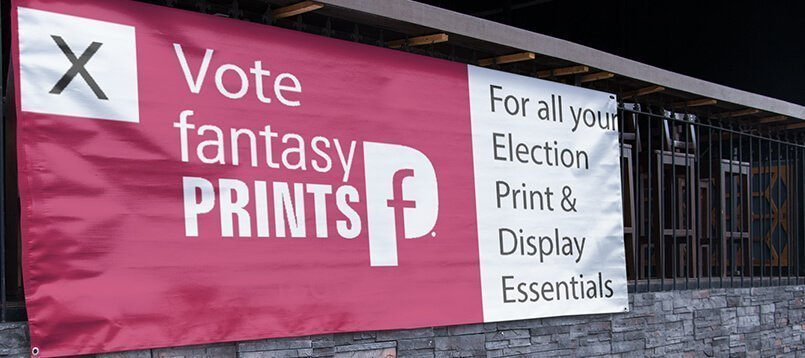 General Election Printing Banner