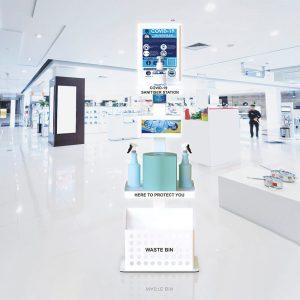 Hand Sandiser Premium Department Stores2