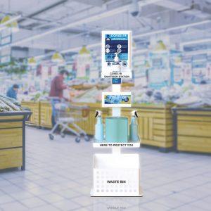 Hand Sandiser Premium Supermarkets2