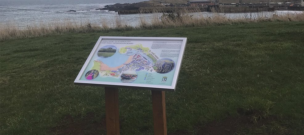 Interpretation Signage - Design Manufactured