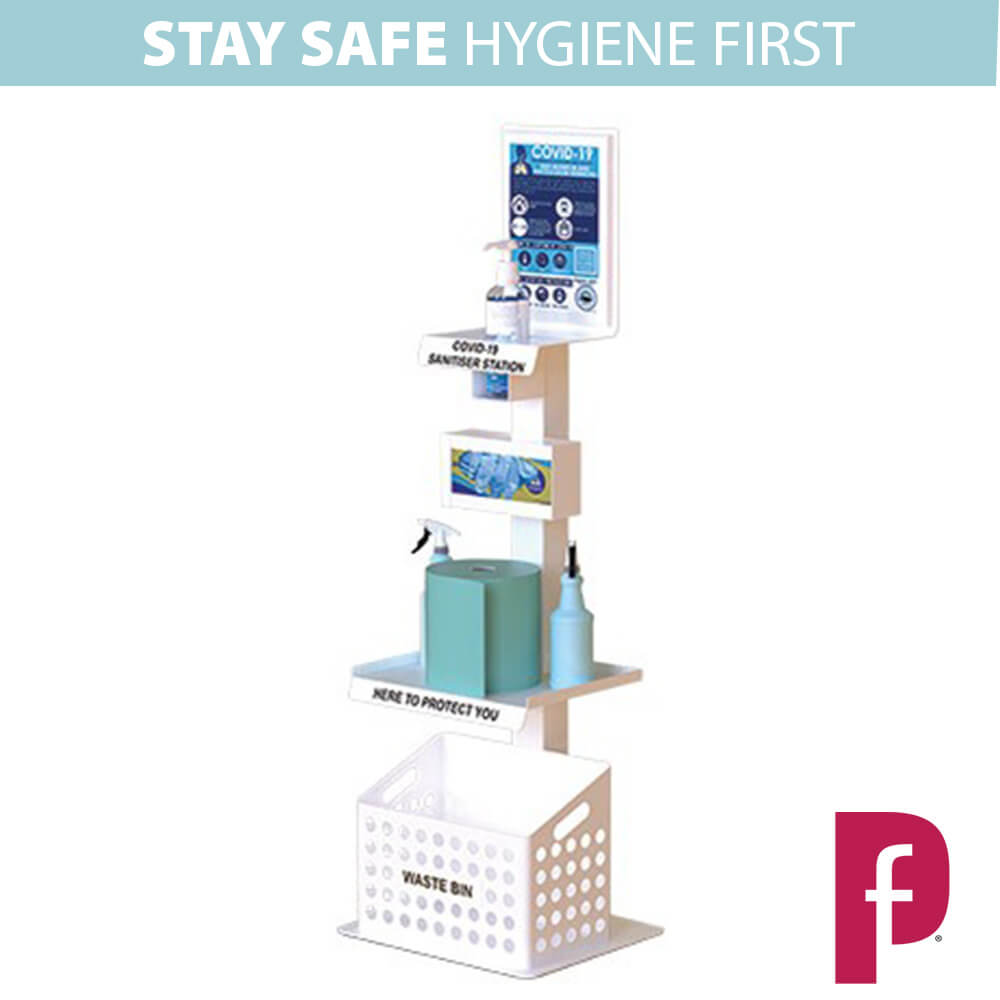 Sanitiser and Surface Cleaning Station 2