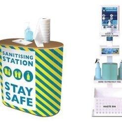 Sanitising Stations for Walls, Desktops and Freestanding