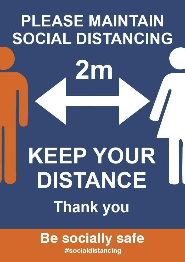 Social Distancing Posters8 1 | Fantasy Prints