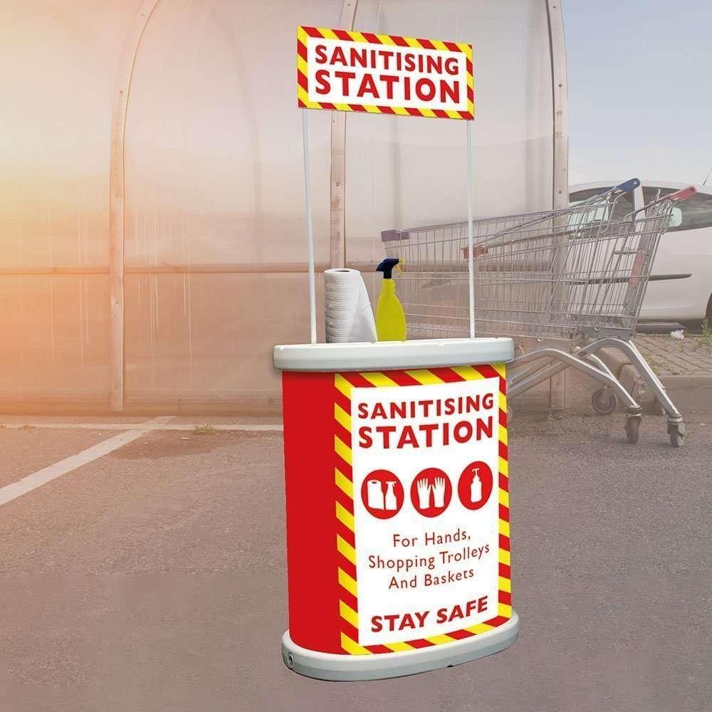 Torando Outdoor Sanitising Station