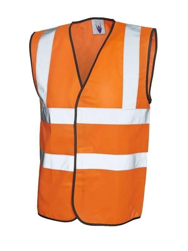 Orange Hi-Vis Vest