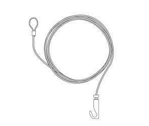7070 Wire Hanging Kit3 | Fantasy Prints