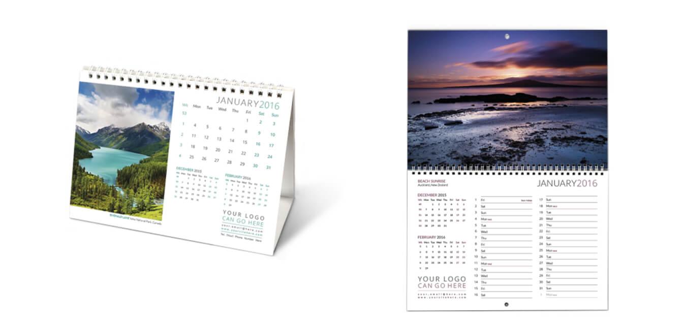 Custom Printed Calendars