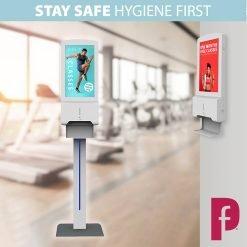 Digital Hand Sanitiser Station