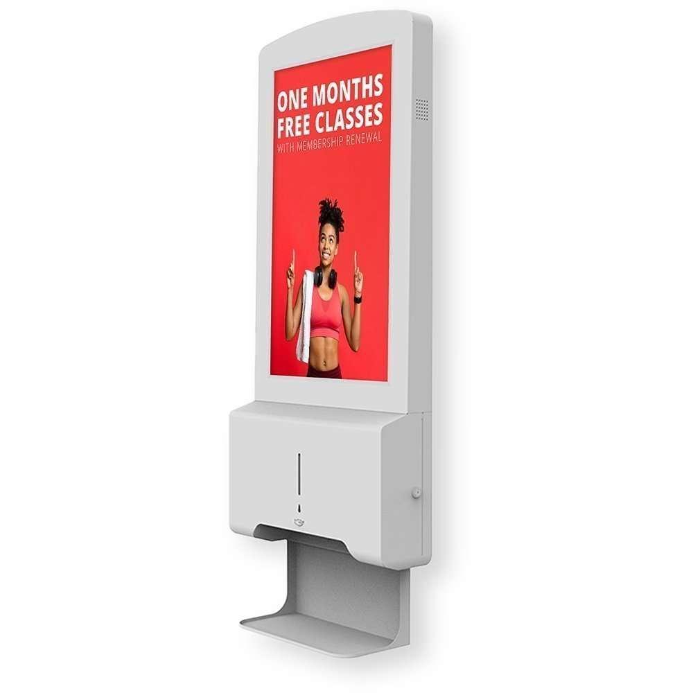 Digital Hand Sanitiser Station Wall Mounted   Fantasy Prints