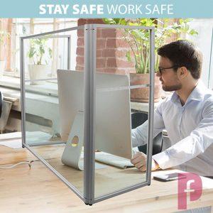 Freestanding Screen Guard Wrap