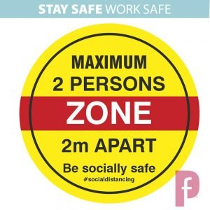 Maximum Two Persons Zone