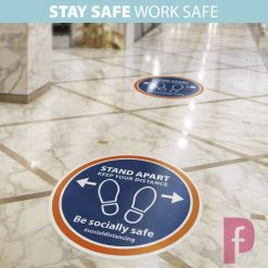 Shop Social Distancing Floor Stickers