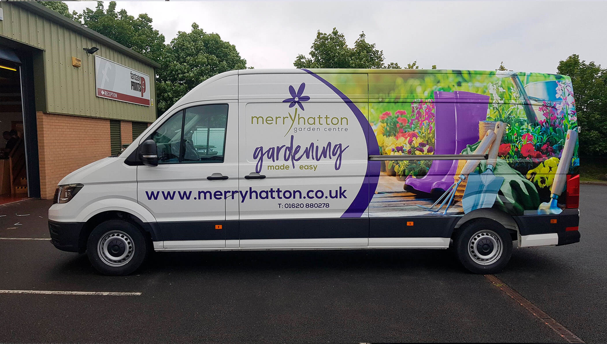Merry Hatton Van Vehicle Livery