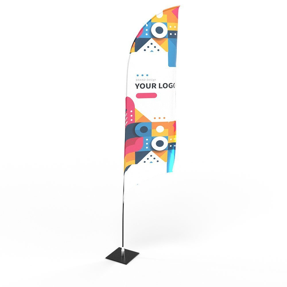 Personalised Printed Feather Flags