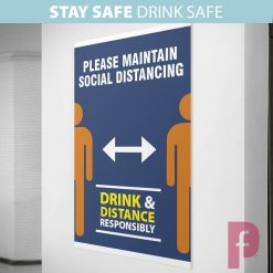 Pub Social Distancing Posters