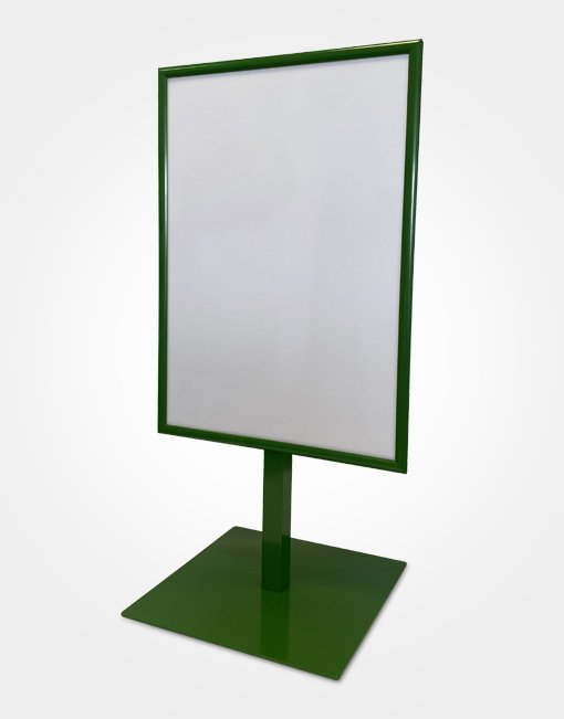 outdoor frame stand front blank | Fantasy Prints