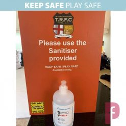 Sanitiser Wall Dispenser with your branding!