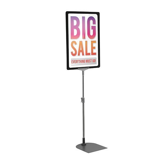 Black A4 Poster Display Stand