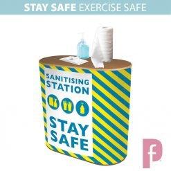 Gym Sanitising Station – branded!