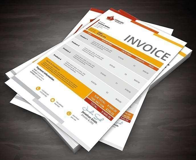 Invoice Printed NCR